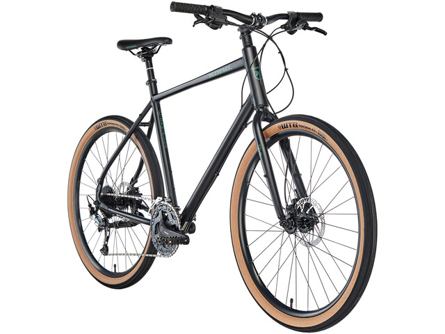 Kona Dew Plus Hybridcykel sort (2019) | City